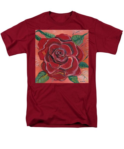 A Rose Is A Rose Men's T-Shirt  (Regular Fit) by John Keaton