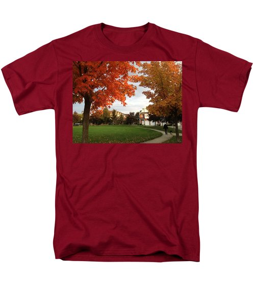 A Walk In The Park Men's T-Shirt  (Regular Fit) by Pema Hou