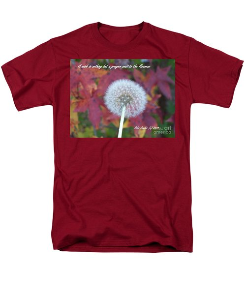 A Wish For You Men's T-Shirt  (Regular Fit) by Robin Coaker