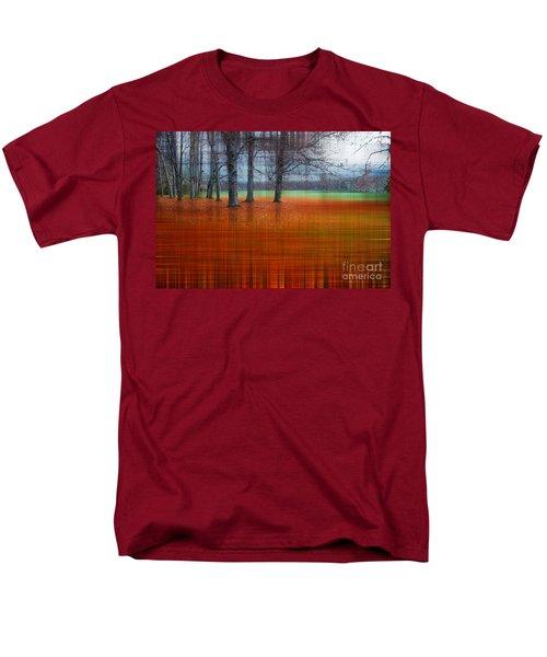abstract atumn II Men's T-Shirt  (Regular Fit) by Hannes Cmarits