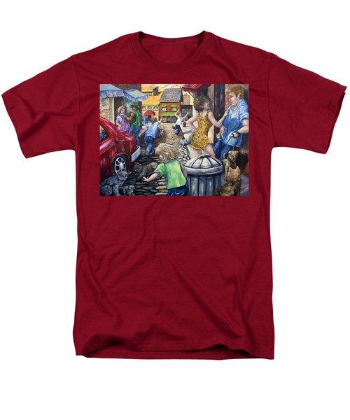 Alley Catz Men's T-Shirt  (Regular Fit) by Gail Butler