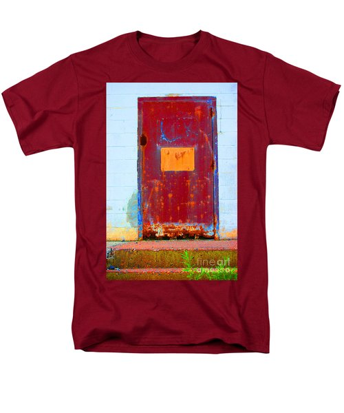 Men's T-Shirt  (Regular Fit) featuring the photograph Back Door by Christiane Hellner-OBrien