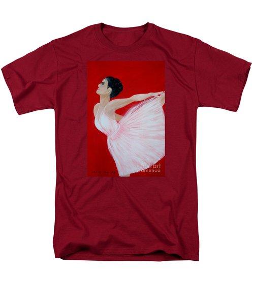 Ballerina.  Grace. Inspirations Collection Men's T-Shirt  (Regular Fit)