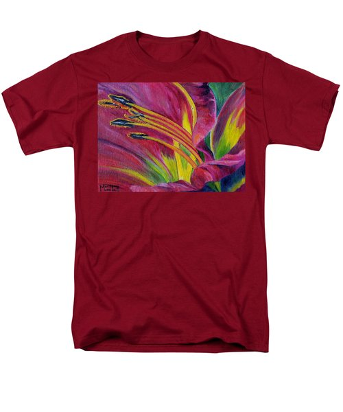 Men's T-Shirt  (Regular Fit) featuring the painting Brilliance Within by Marilyn  McNish