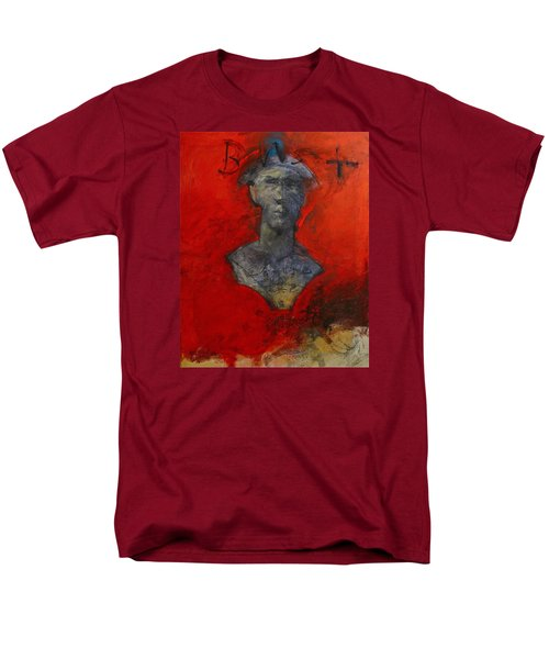 Bust Ted - With Sawdust And Tinsel  Men's T-Shirt  (Regular Fit) by Cliff Spohn
