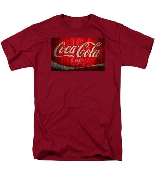 Coca Cola Barn Men's T-Shirt  (Regular Fit) by Dan Sproul