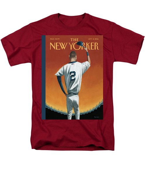 Derek Jeter Bows Men's T-Shirt  (Regular Fit)
