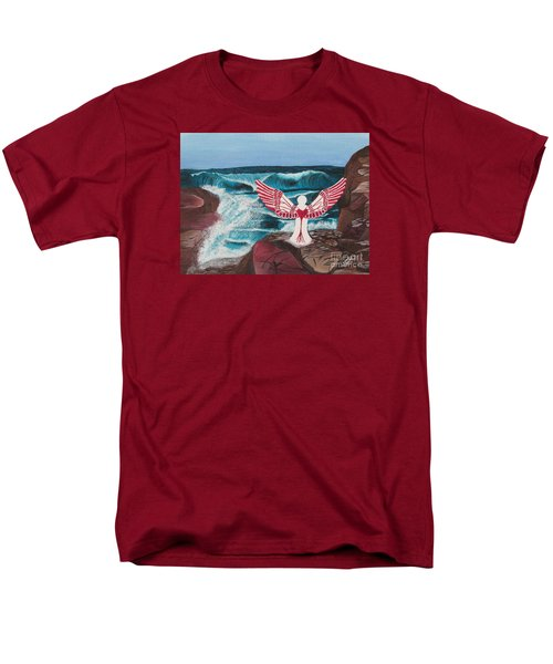 Men's T-Shirt  (Regular Fit) featuring the painting Divine Power by Cheryl Bailey