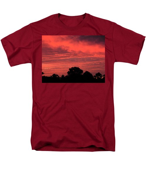 Electric Red Men's T-Shirt  (Regular Fit) by Mark Blauhoefer