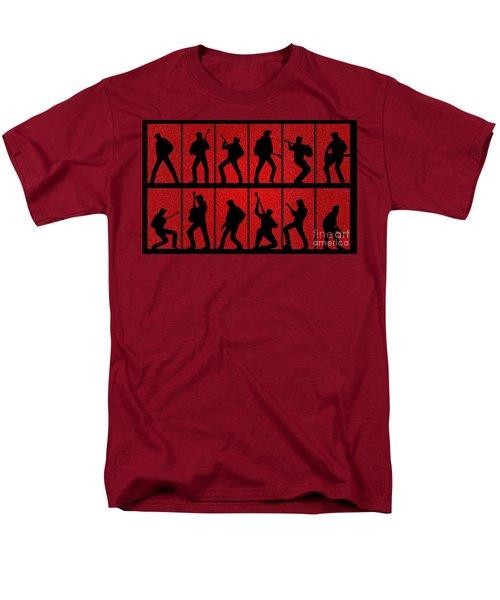 Elvis Silhouettes Comeback Special 1968 Men's T-Shirt  (Regular Fit) by Liz Leyden