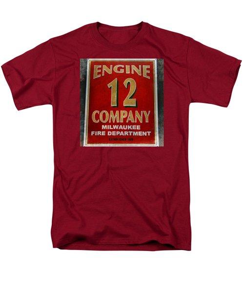 Engine 12 Men's T-Shirt  (Regular Fit) by Susan  McMenamin