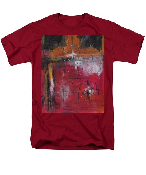Men's T-Shirt  (Regular Fit) featuring the painting Fall by Nicole Nadeau