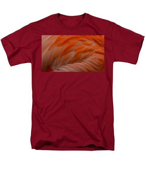 Flamingo Feathers Men's T-Shirt  (Regular Fit) by Michael Hubley