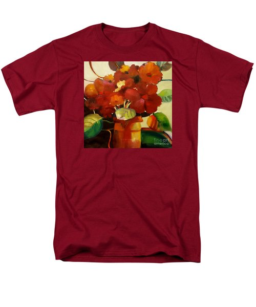 Flower Vase No. 3 Men's T-Shirt  (Regular Fit) by Michelle Abrams