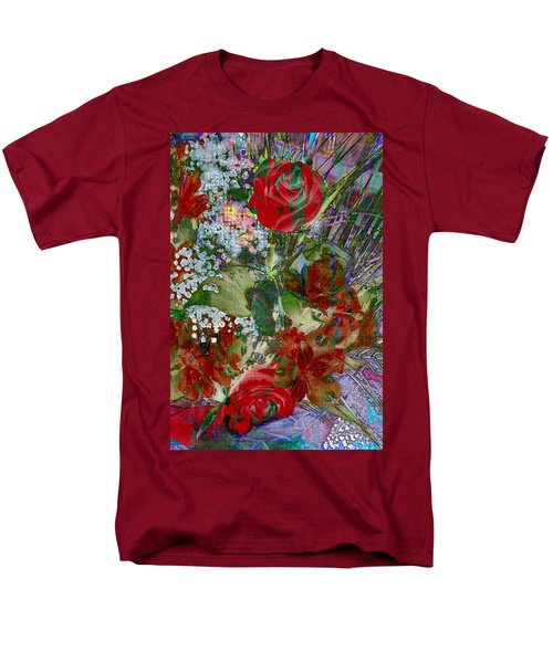Flowers In Bloom Men's T-Shirt  (Regular Fit) by Liane Wright
