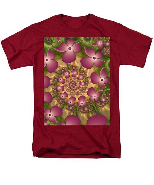 Fractal Joy Men's T-Shirt  (Regular Fit) by Gabiw Art