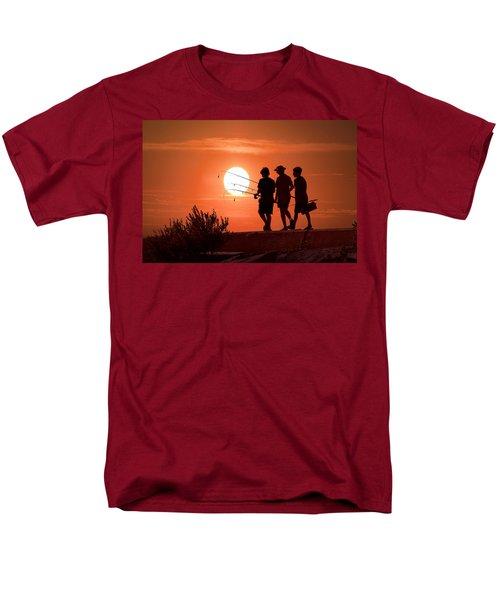 Going Fishing Men's T-Shirt  (Regular Fit) by Randall Nyhof