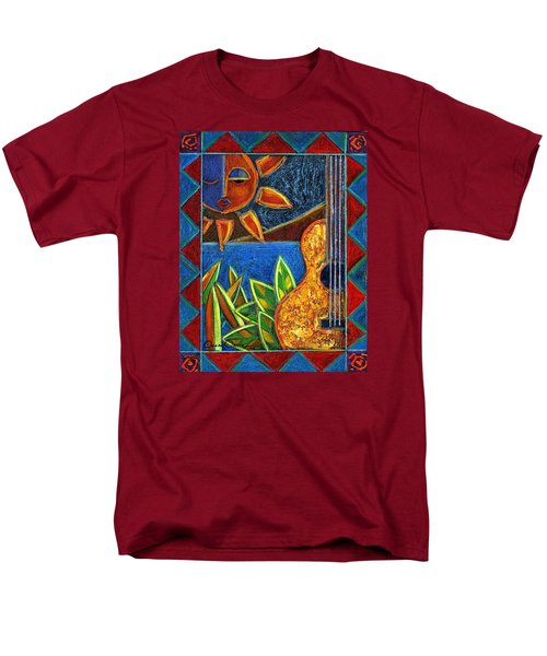 Hispanic Heritage Men's T-Shirt  (Regular Fit) by Oscar Ortiz