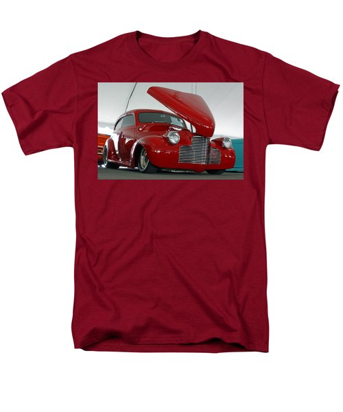 Men's T-Shirt  (Regular Fit) featuring the photograph Hot In Red by Shoal Hollingsworth