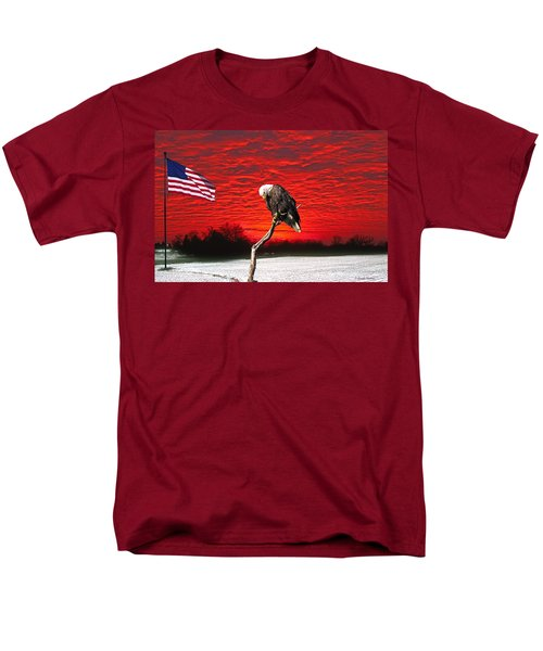 I Pledge Allegiance Men's T-Shirt  (Regular Fit) by Randall Branham