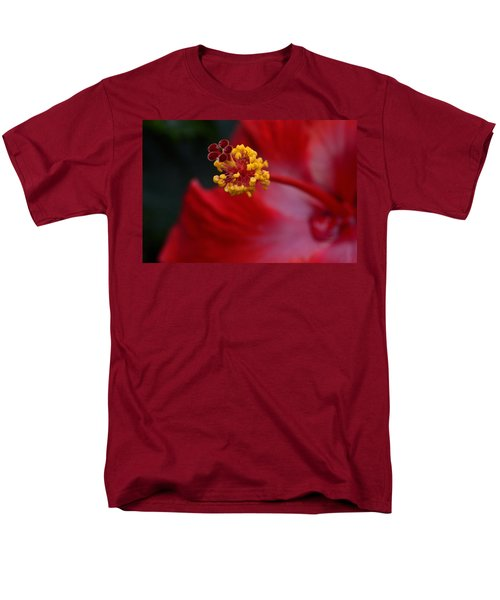 Men's T-Shirt  (Regular Fit) featuring the photograph In Red by Larry Bishop