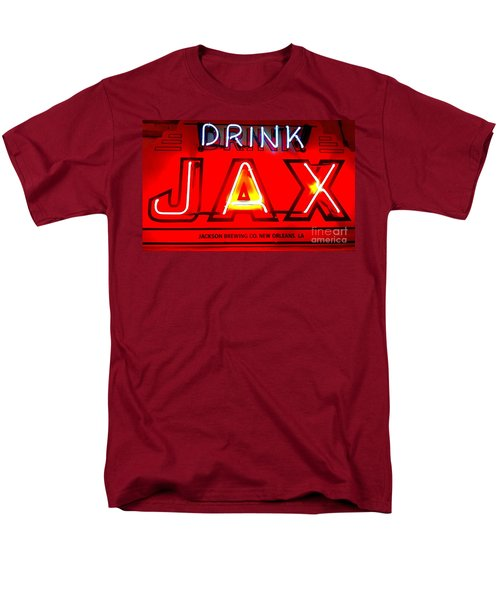 Jax Beer Of New Orleans Men's T-Shirt  (Regular Fit) by Saundra Myles