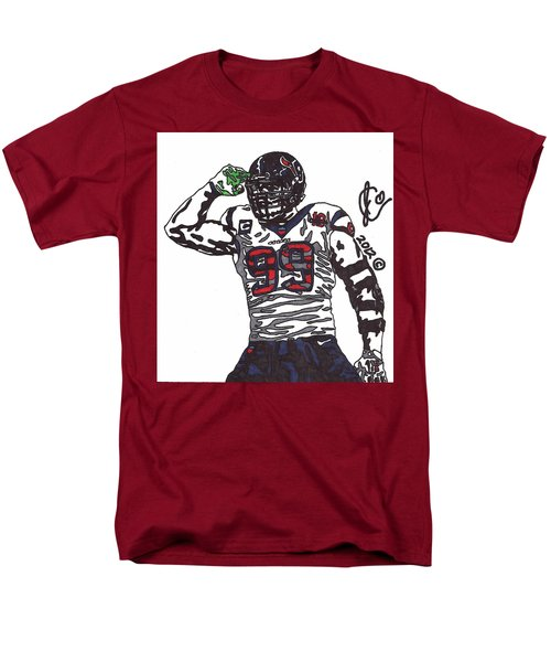 Jj Watt 1 Men's T-Shirt  (Regular Fit) by Jeremiah Colley