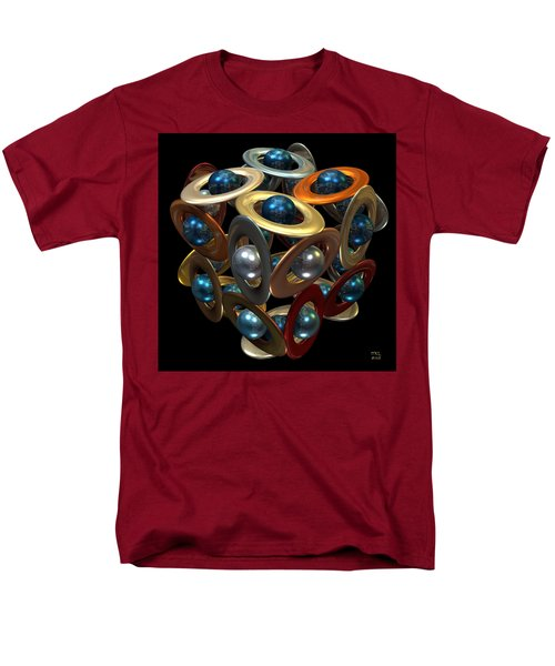 Men's T-Shirt  (Regular Fit) featuring the digital art Kepler's Dream by Manny Lorenzo