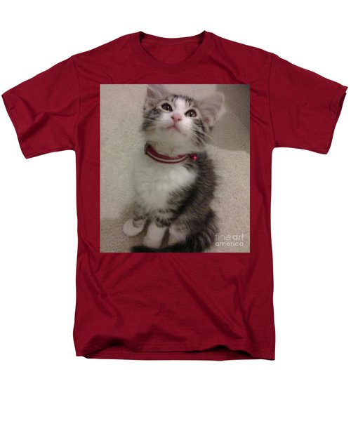 Kitty - Forgotten Innocence Men's T-Shirt  (Regular Fit) by Barbara Yearty