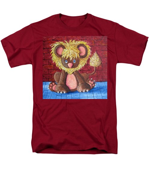 Men's T-Shirt  (Regular Fit) featuring the painting Lil Dandelion by Megan Walsh