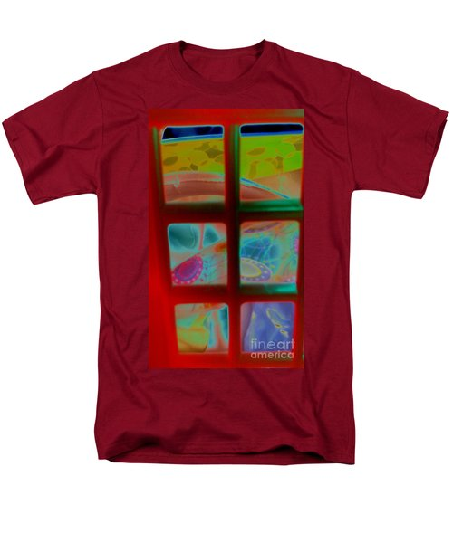 Look Through Any Window Men's T-Shirt  (Regular Fit) by Martin Howard