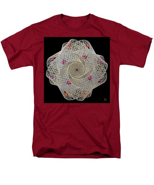 Men's T-Shirt  (Regular Fit) featuring the digital art Netted by Manny Lorenzo