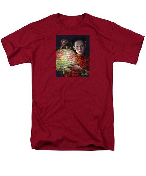 Nightingale Girl Men's T-Shirt  (Regular Fit) by Jane Bucci