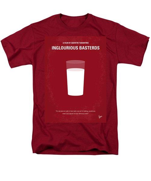 No138 My Inglourious Basterds Minimal Movie Poster Men's T-Shirt  (Regular Fit) by Chungkong Art