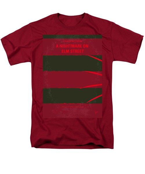 No265 My Nightmare On Elmstreet Minimal Movie Poster Men's T-Shirt  (Regular Fit) by Chungkong Art