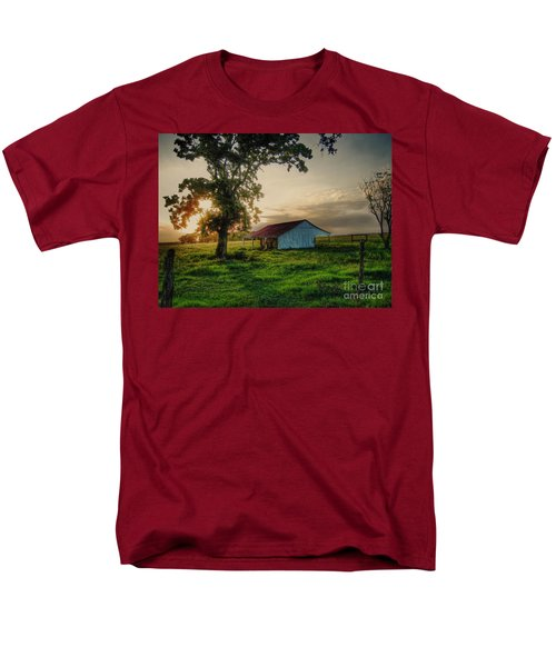 Men's T-Shirt  (Regular Fit) featuring the photograph Old Shed by Savannah Gibbs