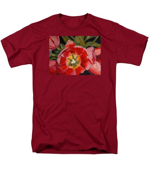 Men's T-Shirt  (Regular Fit) featuring the painting Opening by Pattie Wall