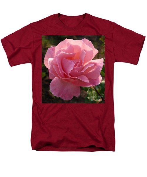 Men's T-Shirt  (Regular Fit) featuring the photograph Pink Rose by Phil Banks