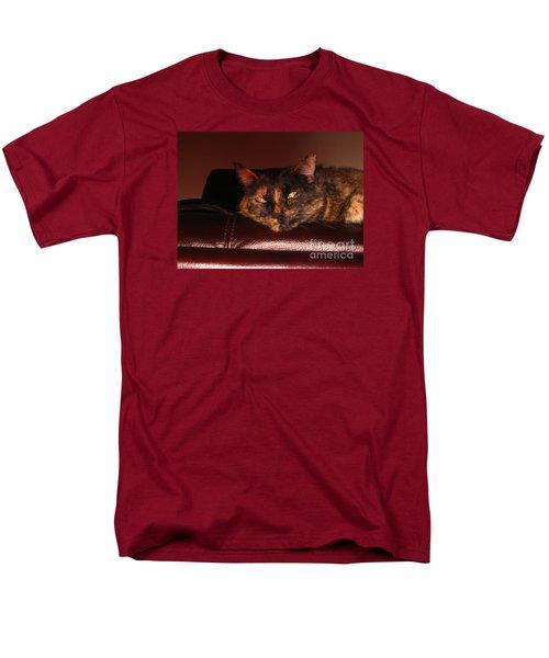 Men's T-Shirt  (Regular Fit) featuring the photograph Pretty Kitty by Oksana Semenchenko