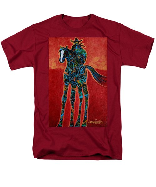 Red With Rope Men's T-Shirt  (Regular Fit) by Lance Headlee