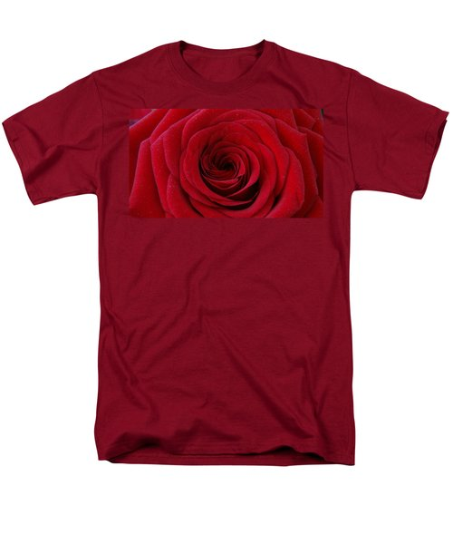 Men's T-Shirt  (Regular Fit) featuring the photograph Rose Red by Shawn Marlow