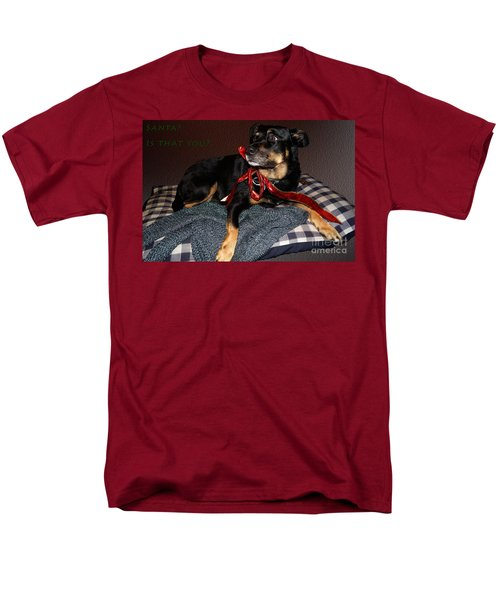 Men's T-Shirt  (Regular Fit) featuring the photograph Santa? by Cassandra Buckley