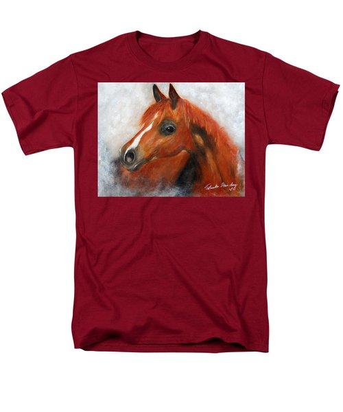 Men's T-Shirt  (Regular Fit) featuring the painting Scarlett by Barbie Batson