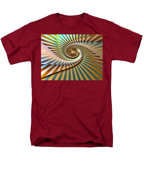 Men's T-Shirt  (Regular Fit) featuring the digital art Spin by Manny Lorenzo