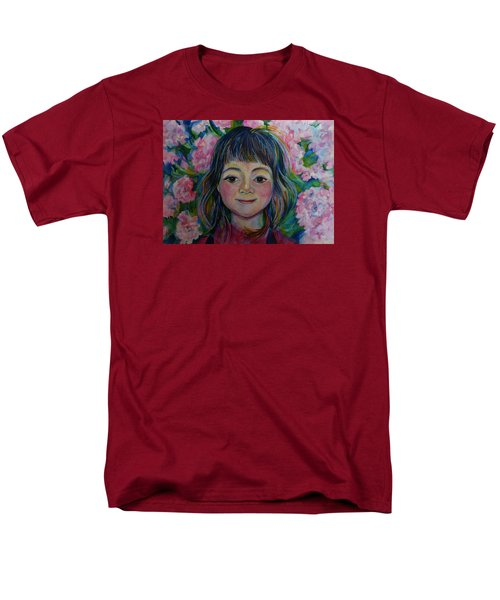 Men's T-Shirt  (Regular Fit) featuring the drawing Spring Girls. Part One by Anna  Duyunova