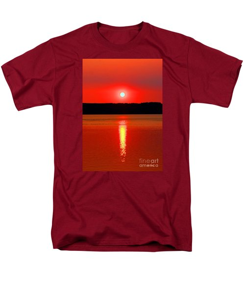 Sunrise Over Whidbey Island Men's T-Shirt  (Regular Fit)