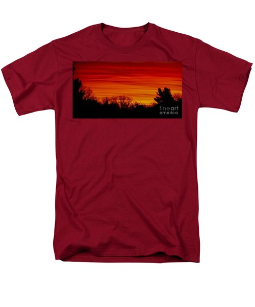 Sunrise Y-town Men's T-Shirt  (Regular Fit) by Angela J Wright