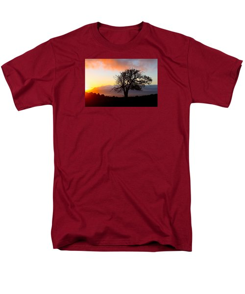 Sunset Tree In Maui Men's T-Shirt  (Regular Fit) by Venetia Featherstone-Witty