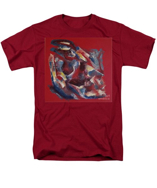 Men's T-Shirt  (Regular Fit) featuring the painting Syncopation by Mini Arora