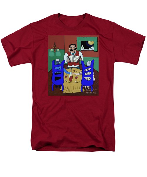 Men's T-Shirt  (Regular Fit) featuring the painting The Anniversary by Barbara McMahon